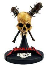 Metallica Pushead Damage Inc Skull  3D Statue Art Vintage 2002