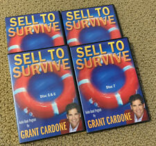 Grant Cardone Sell to Survive 7-Disc CD Set Audio Book Program