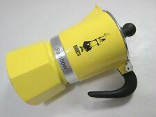 Bialetti Rainbow Yellow Moka Pot 3 Cup Stovetop Coffee Maker