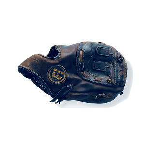 "RARE Wilson A2004 RH 12.5"" RHT Shooting Star Professional Baseball Glove USA"