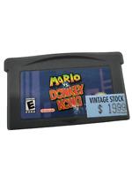 Mario Vs. Donkey Kong (Nintendo Gameboy Advance GBA) Cart Only GREAT Shape