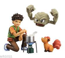 MegaHouse G.E.M. - Pokemon: Brock & Geodude & Vulpix Complete Figure