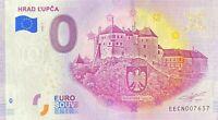 BILLET 0  EURO HRAD L'UPCA SLOVAQUIE  2020 NUMERO DIVERS