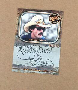 "2010 PP Legends RICHARD PETTY ""On Card"" Bronze Autograph AUTO /125 - NASCAR (MB)"
