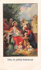"""holycards  Gebetbild Andachtsbild""""H4125"""" Jesus der göttliche Kinderfreund"""