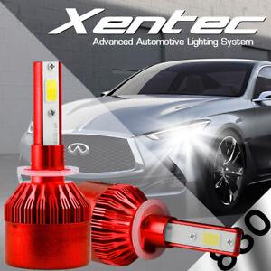 XENTEC LED HID Foglight kit 894 White for 1999-1999 Chevrolet K1500 Suburban