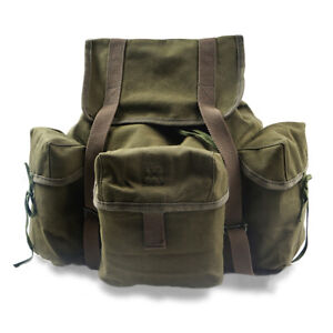 Replica WW2 US Army Style Backpack Outdoors Packs Canvas bag green