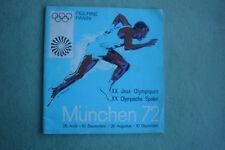 Panini Olympia München 72 Leeralbum Version Benelux mit 2 Bestellscheinen