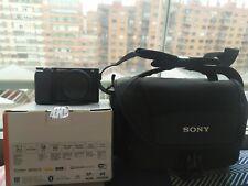 Sony a6100 + case original sony + tarjeta 16GB