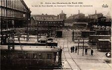 CPA Greve des Cheminots (10e) Gare du Nord désertée (176157)