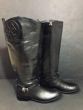 NWOB Women's Tory Burch | Marlene Riding Boots in Black, Sz 8M, MSRP $495