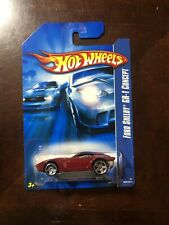 Ford Shelby GR-1 Concept Red 2006 Chrome PR5 Hot Wheels 484