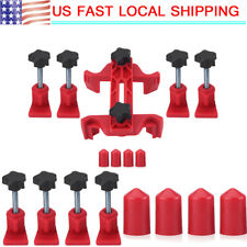 9Pcs Universal Dual Cam Clamp Camshaft Timing Sprocket Gear Locking Tool Kit Set