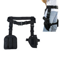 Tactical Drop Leg Holster Hunting Right Hand Pistol Gun Holster with Mag Pouch