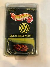 Hot Wheels Limited Edition VW Bus Volkswagen 1997 card in case black LE diecast
