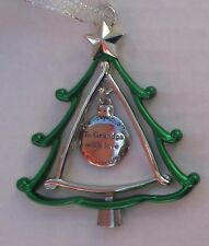 zzx To Grandpa with Love 3d CHRISTMAS TREE ORNAMENT charm Ganz
