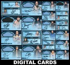 Topps SLAM WWE DYNASTY 2021 [20 CARD RARE SETS] Signature Mat Relic/Dual Sig