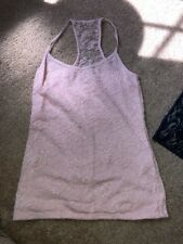 EUC ABERCROMBIE KIDS LIGHT PINK LACE TANK TOP, L