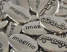 Imagine Braille Word Pebble - Bulk Lot of 10