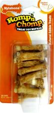 Nylabone Romp 'N Chomp Refill Chicken Mini Souper 9 count | Treats for Dogs