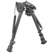 """Ncstar Bipod Spring Loaded Folding Notched Legs Fits Most Rifles, 7""""-11"""""""