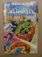 Fantastic Four Atlantis Rising #1 Marvel 1995 Acetate Cover 9.4 Near Mint