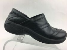 Women's Merrell Encore Eclipse Smooth Bug Black Clogs Shoes Walking (s61)