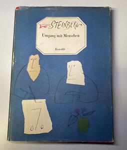 Steinberg Saul Steinberg's Umgang mit Menschen Erstausgabe
