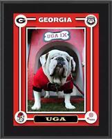 """Georgia Bulldogs UGA Mascot Sublimated 10.5"""" x 13"""" Plaque - Fanatics"""