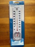 Acurite My Backyard Series Thermometer & Humidity Weather Station 00339