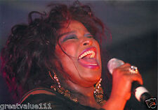CHAKA KHAN PHOTO UNIQUE UNRELEASED IMAGE HUGE 12 INCH CLOSE UP EXCLUSIVE PHOTO