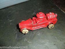 Vintage Red Fire Engine Truck Diecast Metaltoy Truck