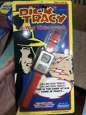 Dick Tracy Watch Playmates 2 Way Wristwatch Vintage Unopened Card Has Wear