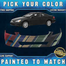 NEW Painted To Match- Front Bumper Cover For 2006 2007 Honda Accord Coupe 2 Door