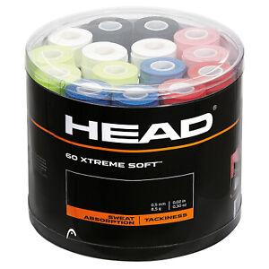 Head Xtreme Soft Overgrip Tennis/Badminton/Squash Grips Various Colours/Quantity