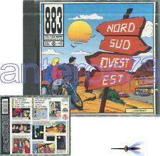 """883 MAX PEZZALI """"NORD SUD OVEST EST"""" RARO CD 1a STAMPA - FUORI CATALOGO"""