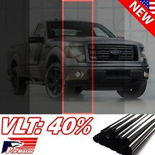 "2016 VLT 40%  20"" x 120"" 10FT Office Home Car Glass Uncut Roll Tint Window Film"