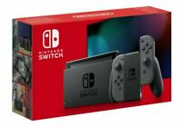 Nintendo Switch Grey Console Bundle V2 NEW (Improved Battery)