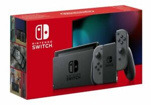 Nintendo Switch Grey Console (Improved Battery)
