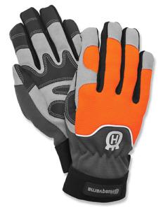 596280509 Genuine HUSQVARNA 579380209 Functional Saw Protection Gloves MEDIUM