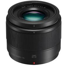Panasonic Lumix G 25mm F1.7 ASPH Lens Black Hh025