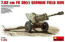 Miniart 1/35 7.62 Cm F.K. 39 German Field Gun #35104 *Sealed*New Release*