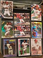 Lot of (9) total 2018 Topps Victor Robles #166 Rookie w/ refractor , bowman mint