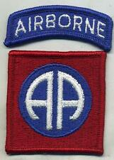 Vietnam Era US Army 82nd Airborne Color Patch W/Airborne Tab