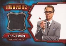 "Iron Man 2 - IMC-11 Sam Rockwell ""Justin Hammer"" Costume Card"