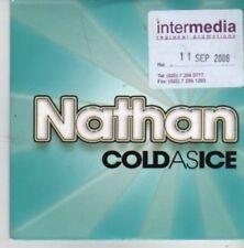 (BZ75) Nathan, Cold As Ice - 2006 DJ CD