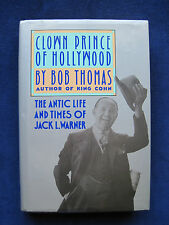Biography of Warner Bros. Founder JACK WARNER - SIGNED by the Author BOB THOMAS
