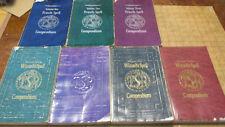 Ad&D 2e Encylcopedia Magica 1-4, Priest 1-3, Wizards Compendium 1-4 free shiping
