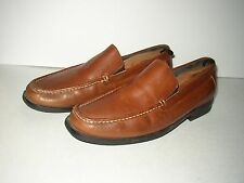 BOSTONIAN Brown/Tan Leather Loafers SZ 11 Nice!