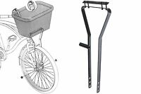 AMMACO CYCLE BIKE BICYCLE BASKET METAL FRAME SUPPORT FOR WIRE OR WICKER BASKETS
